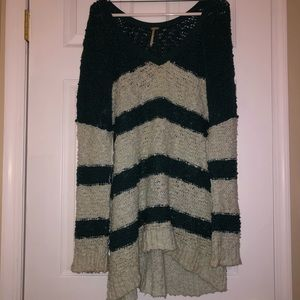 V-Neck Women's Free People Pull Over Sweater